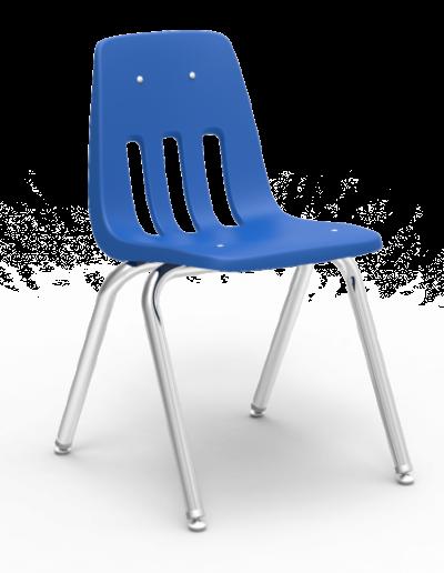 Scaun ergonomic STEP MATTE - albastru