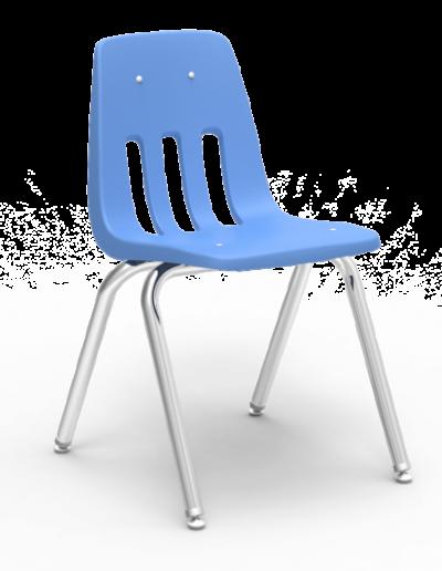 Scaun ergonomic STEP MATTE - albastru deschis