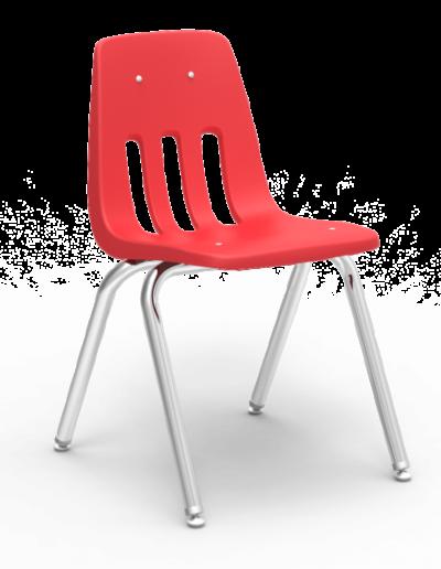 Scaun ergonomic STEP MATTE - rosu