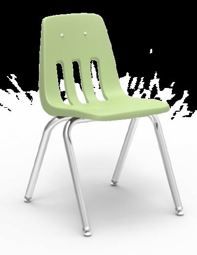 Scaun ergonomic STEP MATTE - verde deschis