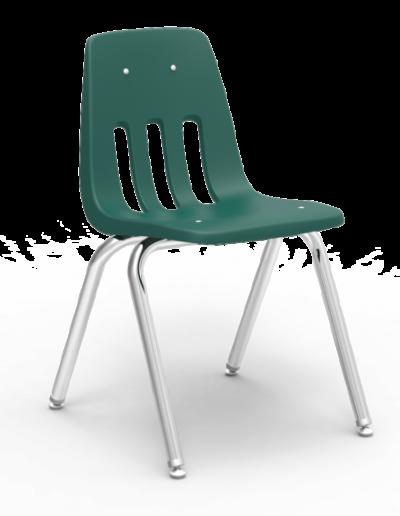 Scaun ergonomic STEP MATTE - verde padure