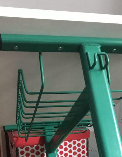 Detaliu structura metalica masa scolara Matte Conect