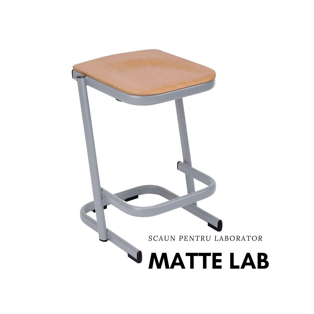 Scaun laborator MATTE lab