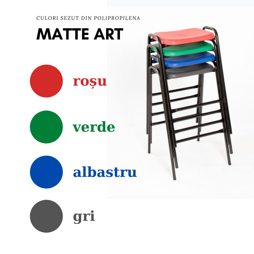 Scaun laborator - culori